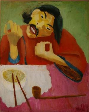 Chinaman, 1928 | Paintings