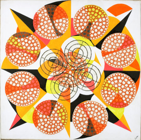 Nucleus, 1966 | Paintings